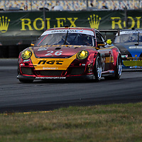 Team NGT Motorsport competing at the Rolex 24 at Daytona 2012