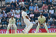 Rishabh Pant of India avoids a bouncer during day two of the fourth SpecSavers International Test Match 2018 match between England and India at the Ageas Bowl, Southampton, United Kingdom on 31 August 2018.