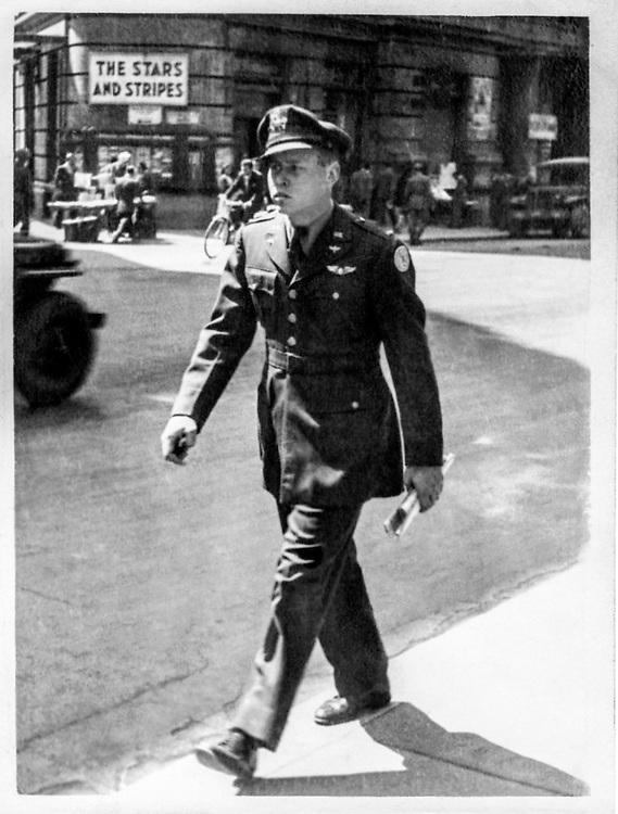 Lt. Warren Swenson in Rome, April, 1945.