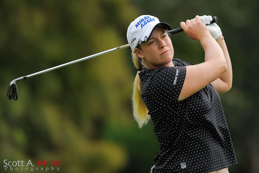Brittany Linicome during the first round of the CME Group Titleholders at Grand Cypress Resort on Nov. 17, 2011 in Orlando, Fla.  ..©2011 Scott A. Miller