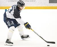 2018-08-04 | Jönköping, Sweden: HV71 (73) Sebastian Wännström during the HV71 ice premiere at Kinnarps Arena ( Photo by: Marcus Vilson | Swe Press Photo )<br /> <br /> Keywords: Ice Premiere, Season 2018/19, Sweden, SHL, Jönköping, Kinnarps Arena, Ice Hockey, HV71, , Sebastian Wännström