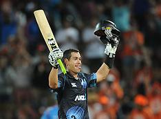 Hamilton-Cricket, New Zealand v India, 4th one day, January 28