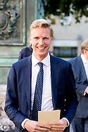 DEEN HAAG - nederlandse leden van het europees parlement komen aan bij paleis Noordeinde  voor COPYRIGHT ROBIN UTRECHT