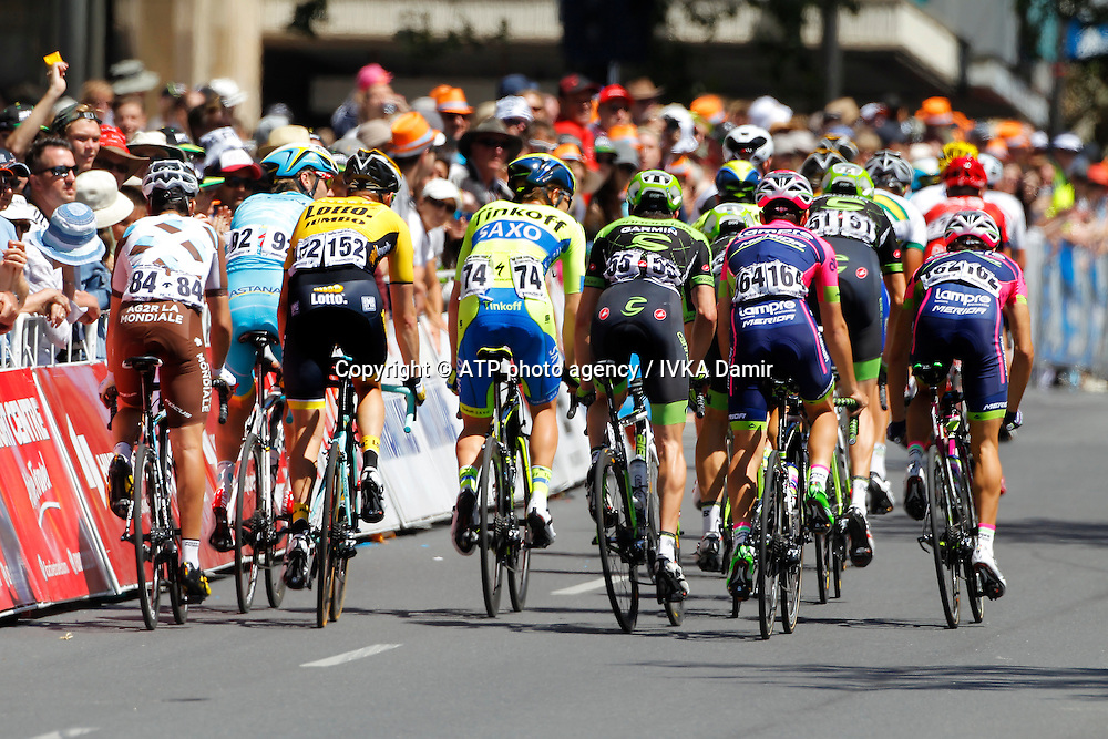 2015 Santos Tour Down Under. Adelaide. Australia.Sunday 25.1.2015.Stage 6. Adelaide Street Circuit.90kmFinished second overall.&copy; ATP / Damir IVKA<br />  - Tour Down Under Australia 2015, Cycling, road race, Radrennen, Australien -  Radsport - Rad Rennen <br /> - fee liable image: copyright &copy; ATP - IVKA Damir