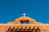 Saint Thomas The Apostle Catholic Church, The Pueblo de Abiquiu Plaza, Abiquiu, New Mexico