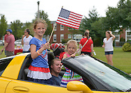 Wantagh, New York, USA. 4th July 2015. The Miss Wantagh Pageant ceremony, a long-time Independence Day tradition on Long Island, is held at Wantagh School after the town's July 4th Parade. Keri Balnis was crowned Miss Wantagh 2015. Since 1956, the Miss Wantagh Pageant, which is not a beauty pageant, crowns a high school student based mainly on academic excellence and community service.