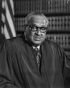 Thugood Marshall 1908-1993) American jurist. First African American to serve on the Supreme Court 1767-1991.
