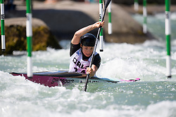 Veronika VOJTOVA of Czech Republic during the Canoe Single (WK1) Womens Semi Final race of 2019 ICF Canoe Slalom World Cup 4, on June 28, 2019 in Tacen, Ljubljana, Slovenia. Photo by Sasa Pahic Szabo / Sportida