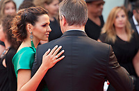 Matt Damon and Luciana Damon at the premiere of the film Suburbicon at the 74th Venice Film Festival, Sala Grande on Saturday 2 September 2017, Venice Lido, Italy.