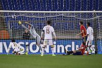 Gol Saul Niguez Spagna Goal celebration <br /> Roma 27-02-2017, Stadio Olimpico<br /> Football Friendly Match  <br /> Italy - Spain Under 21 Foto Andrea Staccioli Insidefoto