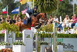 Azcarraga Gonzalo, MEX, Quite Nice 5<br /> Grand Prix Henders & Hazel <br /> CSI2* Knokke 2019<br /> © Hippo Foto - Dirk Caremans<br /> Azcarraga Gonzalo, MEX, Quite Nice 5