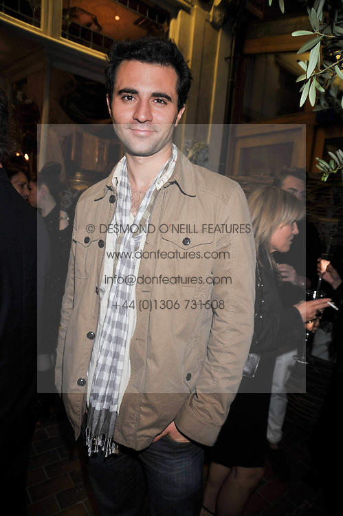 Singer DARIUS DANESH at the opening party for the new Gail Berry emporium at 187 New Kings Road, London SW6 on 30th September 2009.<br /> <br /> <br /> <br /> BYLINE MUST READ: donfeatures.com<br /> <br /> *THIS IMAGE IS STRICTLY FOR PAPER, MAGAZINE AND TV USE ONLY - NO WEB ALLOWED USAGE UNLESS PREVIOUSLY AGREED. PLEASE TELEPHONE 07092 235465 FOR THE UK OFFICE.*