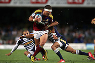 during the Super 15 match between The DHL Stormers and The Highlanders held at DHL Newlands Stadium in Cape Town, South Africa on the 11 March 2011..Photo by Ron Gaunt/SPORTZPICS