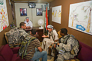 The fabricated village at Fort Irwin simulates life in Iraq for soldiers to the last detail, complete with consultations of Iraqi officials to resolve disputes.