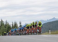 11.07.2019, Kitzbühel, AUT, Ö-Tour, Österreich Radrundfahrt, 5. Etappe, von Radstadt nach Fuscher Törl (103,5 km), im Bild das Peleton auf der Gerlos, Tirol // the peleton at the Gerlos Tyrol during 5th stage from Bruck an der Glocknerstraße to Kitzbühel (161,9 km) of the 2019 Tour of Austria. Kitzbühel, Austria on 2019/07/11. EXPA Pictures © 2019, PhotoCredit: EXPA/ Reinhard Eisenbauer