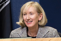 Austin District 5 Council Member Ann Kitchen at City Council Meeting
