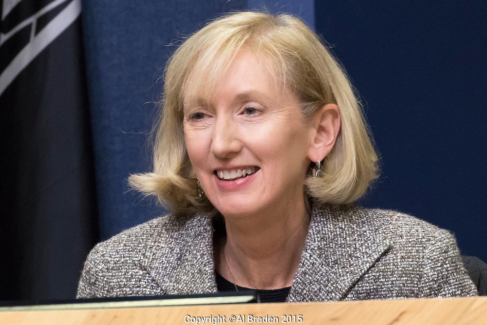 Austin District 5 Council Member Ann Kitchen at City Council Meeting