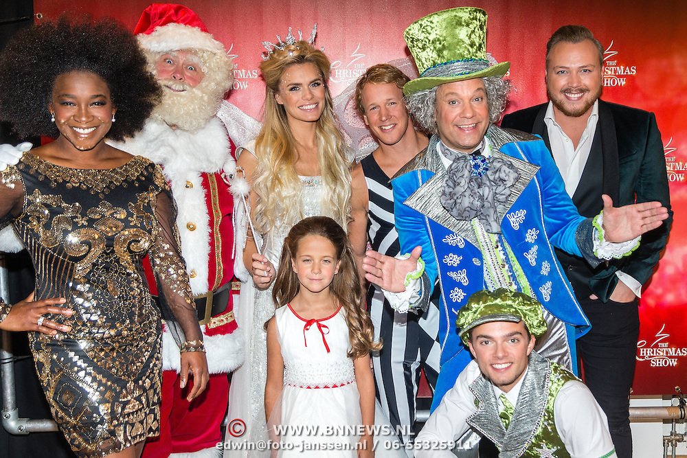 NLD/Amsterdam/20161012 - RTL presenteert cast The Christmas Show,