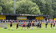 East Grinstead Town v Crawley Town 09/07/2016