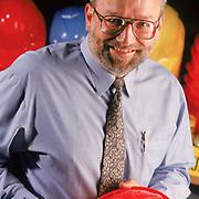 Executive Portrait, Dale Bernard, safety equipment company.