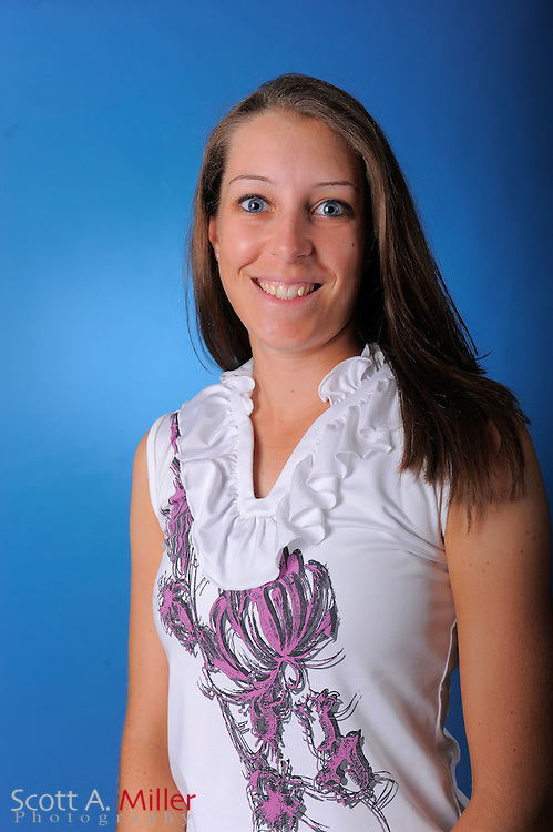 Elise Swartout during a portrait session prior to the second stage of LPGA Qualifying School at the Plantation Golf and Country Club on Sept. 24, 2011 in Venice, FL...©2011 Scott A. Miller