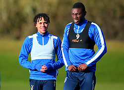 New signing Kyle Bennett takes part in his first training session after signing for Bristol Rovers alongside new teammate Bernard Mensah - Mandatory by-line: Robbie Stephenson/JMP - 01/02/2018 - FOOTBALL - The Lawns Training Ground - Bristol, England - Bristol Rovers Training