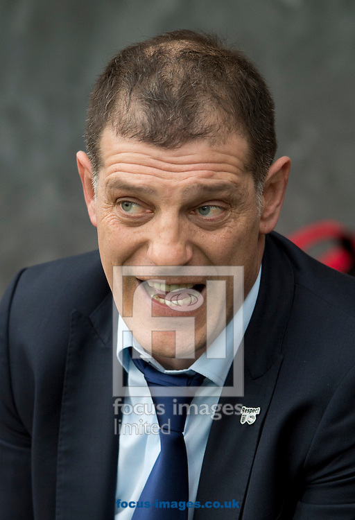 West Ham United manager Slaven Bilic before the FA Cup match at Ewood Park, Blackburn<br /> Picture by Russell Hart/Focus Images Ltd 07791 688 420<br /> 21/02/2016