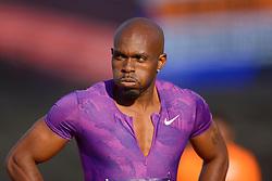31-07-2015 NED: Asics NK Atletiek, Amsterdam<br /> Nk outdoor atletiek in het Olympische stadion Amsterdam /  Churandy Martina op de 100 meter