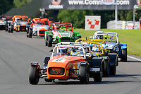 #6 Nick Powell Caterham Supersport during the ITC Compliance Caterham Supersport Championship at Oulton Park, Little Budworth, Cheshire, United Kingdom. August 13 2016. World Copyright Peter Taylor/PSP.