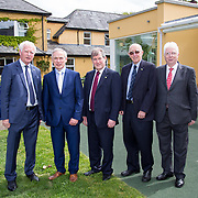05.05. 2017.                                                 <br /> JP McManus today announced a further &euro;32 million investment in Third Level Education Scholarships for eligible students throughout Ireland, North and South. He was joined by the Minister for Education &amp; Skills, Richard Bruton T.D. and former All Ireland Scholarship recipients to make the announcement in Adare, Co Limerick. Picture: Alan Place.