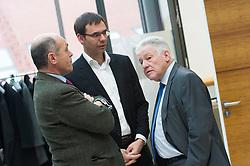 15.03.2016, Finanzministerium, Wien, AUT, Bundesregierung, Verhandlungen zum Finanzausgleich, im Bild v.l.n.r. Finanzreferent Niederösterreich Wolfgang Sobotka (ÖVP), Landeshauptmann Vorarlberg Markus Wallner (ÖVP) und Landeshauptmann Oberösterreich Josef Pühringer (ÖVP) // during negotiations according to redistribution of income in Vienna, Austria on 2016/03/15, EXPA Pictures © 2016, PhotoCredit: EXPA/ Michael Gruber