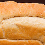 Freshly baked Italian bread with a golden crust