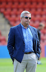 Bristol Rovers chairman , Nick Higgs - Mandatory by-line: Neil Brookman/JMP - 25/07/2015 - SPORT - FOOTBALL - Cheltenham Town,England - Whaddon Road - Cheltenham Town v Bristol Rovers - Pre-Season Friendly