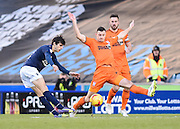 Diego Fabbrini shoots at goal during the Sky Bet Championship match between Millwall and Ipswich Town at The Den, London, England on 17 January 2015. Photo by David Charbit.