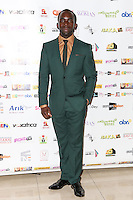Jimmy Akingbola, Screen Nation Film & Television Awards, Park Plaza Riverbank Hotel, London UK, 23 February 2014, Photo by Vickie Flores.