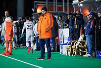 ROTTERDAM - bondscoach Max Caldas (NED) with assistent-coach Taco van den Honert  (NED)    during  the Pro League hockeymatch men, Netherlands- Germany (0-1). )  WSP COPYRIGHT  KOEN SUYK