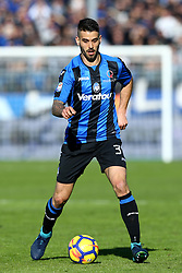January 21, 2018 - Bergamo, Italy - Leonardo Spinazzola of Atalanta  during the Italian Serie A football match Atalanta Vs Napoli on January 21, 2018 at the 'Atleti Azzurri d'Italia Stadium' in Bergamo. (Credit Image: © Matteo Ciambelli/NurPhoto via ZUMA Press)