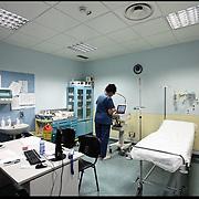 Sala visite del Pronto Soccorso all'Ospedale Santa Corona di Pietra Ligure (SV) .22 agosto 2011