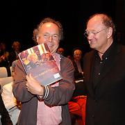 NLD/Amsterdam/20050530 - Presentatie boek over het leven van Mary Dresselhuys, Paul Haenen en Joop van den Ende