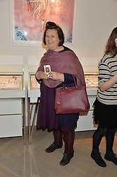 SUZY MENKES at a party to celebrate the launch of the new Stephen Webster Salon at 130 Mount Street, London on 18th May 2016.