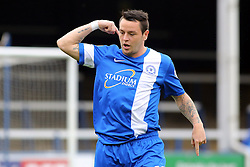 Peterborough United's Lee Tomlin celebrates scoring - Photo mandatory by-line: Joe Dent/JMP - Tel: Mobile: 07966 386802 21/09/2013 - SPORT - FOOTBALL - London Road Stadium - Peterborough - Peterborough United V MK Dons - Sky Bet League 1
