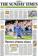 Sunday Times Sport p2 Chelsea v Newcastle United