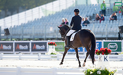Steffen Zeibig, (GER), Feel Good 4 - Team Competition Grade III Para Dressage - Alltech FEI World Equestrian Games™ 2014 - Normandy, France.<br /> © Hippo Foto Team - Jon Stroud <br /> 25/06/14