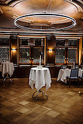 Switzerland, Zurich: room in the Zunfthaus zur Waag restaurant