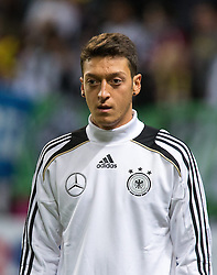 15.10.2013, Friends Arena, Stockholm, SWE, FIFA WM Qualifikation, Schweden vs Deutschland, Gruppe C, im Bild Germany 8 Mesut Özil, , , Nyckelord , Keywords : football , fotboll , soccer , FIFA , World Cup , Qualification , Sweden , Sverige , Schweden , Germany , Tyskland , Deutschland portr©tt portrait // during the FIFA World Cup Qualifier Group C Match between Sweden and Germany at the Friends Arena, Stockholm, Sweden on 2013/10/15. EXPA Pictures © 2013, PhotoCredit: EXPA/ PicAgency Skycam/ Ted Malm<br /> <br /> ***** ATTENTION - OUT OF SWE *****
