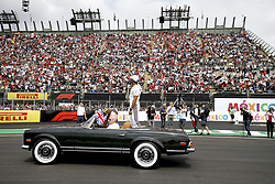October 28, 2018 - Mexico-City, Mexico - Motorsports: FIA Formula One World Championship 2018, Grand Prix of Mexico, ..#44 Lewis Hamilton (GBR, Mercedes AMG Petronas Motorsport) (Credit Image: © Hoch Zwei via ZUMA Wire)