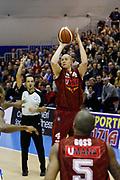 DESCRIZIONE : Capo dOrlando Lega A 2014-15 Orlandina Basket Umana Reyer Venezia<br /> GIOCATORE : HRVOJE PERIC<br /> CATEGORIA : TIRO THREE POINT<br /> SQUADRA : Umana Reyer Venezia<br /> EVENTO : Campionato Lega A 2014-2015 <br /> GARA : Orlandina Basket Umana Reyer Venezia<br /> DATA : 11/01/2015<br /> SPORT : Pallacanestro <br /> AUTORE : Agenzia Ciamillo-Castoria/G.Pappalardo<br /> Galleria : Lega Basket A 2014-2015<br /> Fotonotizia : Capo dOrlando Lega A 2014-15 Orlandina Basket Umana Reyer Venezia