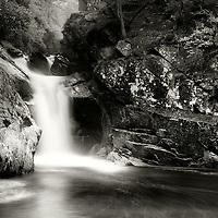 Upper falls of Bruar, Pitagowan, Perthshire.