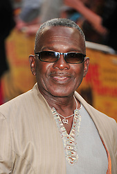 © licensed to London News Pictures. London, UK.  09/05/11. Rudolph Walker attends the London premiere of Fire in Babylon in Leicester Square . Please see special instructions for usage rates. Photo credit should read AlanRoxborough/LNP