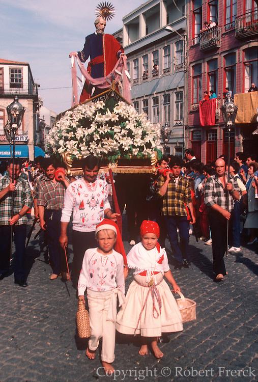 PORTUGAL, NORTHERN Povoa de Varzim; San Pedro Festival